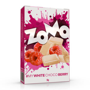 ZOMO CHOCOLATE BLANCO Y BERRY
